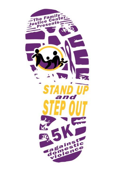 Stand Up and Step Out Logo DRAFT 2 25